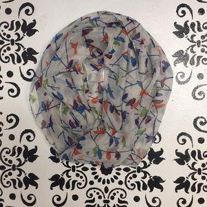 Accessories - Bird print scarf